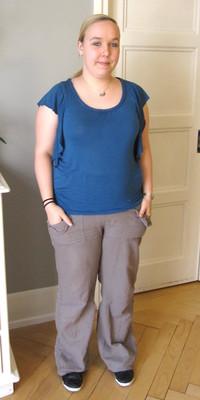 Sandra Baur aus Rotkreuz vor dem Abnehmen mit ParaMediForm