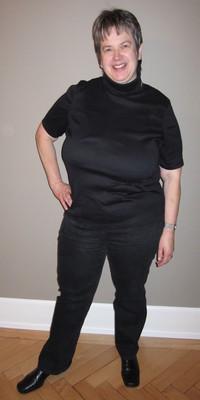 Anna Bühler aus Walchwil vor dem Abnehmen mit ParaMediForm