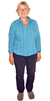Ineke Schiesser aus Belp vor dem Abnehmen mit ParaMediForm