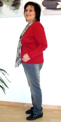 Maryam  Ata de Laupersdorf après avoir perdu du poids avec ParaMediForm