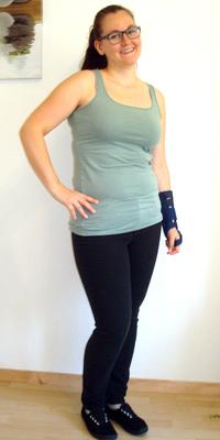 Eveline Bader de Mümliswil après avoir perdu du poids avec ParaMediForm