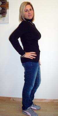 Anita Senn de Oensingen après avoir perdu du poids avec ParaMediForm