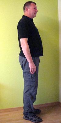 Heinz Christen de Laupersdorf avant de perdre du poids avec ParaMediForm