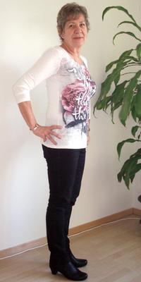 Marie-Louise Peier de Balsthal après avoir perdu du poids avec ParaMediForm