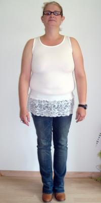 Karin  Fritz de Oberbuchsiten avant de perdre du poids avec ParaMediForm