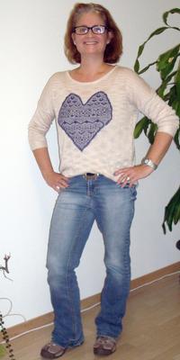Karin  Fritz de Oberbuchsiten après avoir perdu du poids avec ParaMediForm