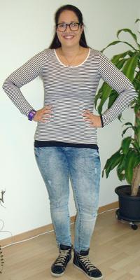 Gabriella Almeida de Oensingen après avoir perdu du poids avec ParaMediForm