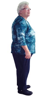 Rosmarie Bättig de Balsthal avant de perdre du poids avec ParaMediForm