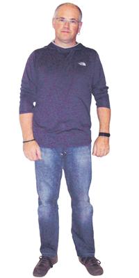 Marcel Heutschi de Balsthal après avoir perdu du poids avec ParaMediForm