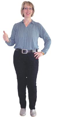 Annemarie Uludag de Kappel après avoir perdu du poids avec ParaMediForm