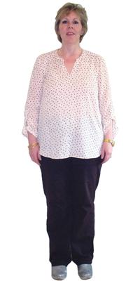 Annemarie Uludag de Kappel avant de perdre du poids avec ParaMediForm