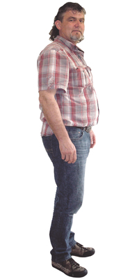 David Steiner de Neuendorf avant de perdre du poids avec ParaMediForm