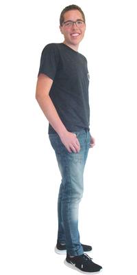 Adrian Eggenschwiler de Mümliswil après avoir perdu du poids avec ParaMediForm