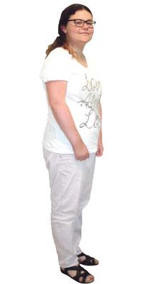 Andrea Studer de Wolfwil avant de perdre du poids avec ParaMediForm