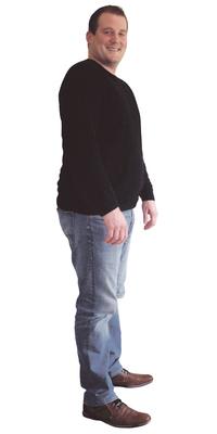 David Ackermann de Fulenbach avant de perdre du poids avec ParaMediForm