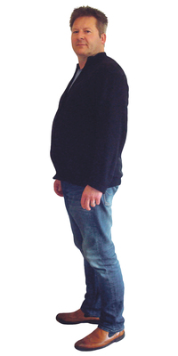 Christian Haas de Oensingen avant de perdre du poids avec ParaMediForm