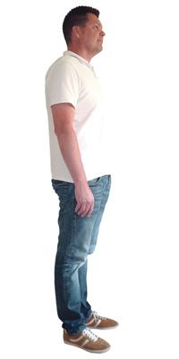 Oliver Zulauf de Oensingen avant de perdre du poids avec ParaMediForm