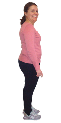 Gracinda Do Aido de Oberbuchsiten avant de perdre du poids avec ParaMediForm
