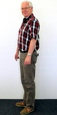 Peter Petzka de Dättwil après avoir perdu du poids avec ParaMediForm