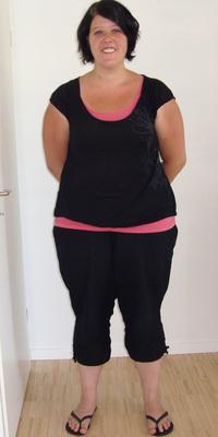 Katja Steiner de Baden avant de perdre du poids avec ParaMediForm