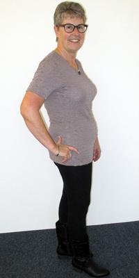 PR-Bericht von Yvonne Zimmermann de Oberrohrdorf après avoir perdu du poids avec ParaMediForm