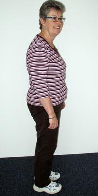 PR-Bericht von Yvonne Zimmermann de Oberrohrdorf avant de perdre du poids avec ParaMediForm