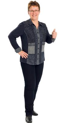 Ruth Riedwyl de Mägenwil après avoir perdu du poids avec ParaMediForm