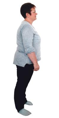 Ruth Riedwyl de Mägenwil avant de perdre du poids avec ParaMediForm