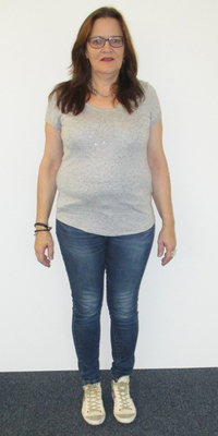 Heidi Bühler de Untersiggenthal avant de perdre du poids avec ParaMediForm