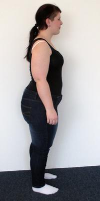 Selma Temiz de Dättwil avant de perdre du poids avec ParaMediForm