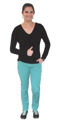 Chantal  Bono de Frick après avoir perdu du poids avec ParaMediForm
