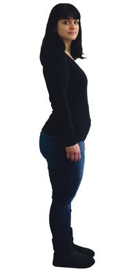 Ana Schoch de Lenzburg avant de perdre du poids avec ParaMediForm