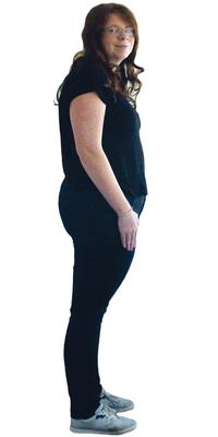 Sarah Mattmann de Fahrwangen avant de perdre du poids avec ParaMediForm