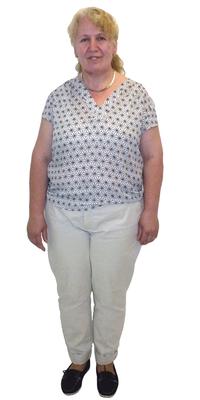 Shyrete Bajrami de Birr avant de perdre du poids avec ParaMediForm
