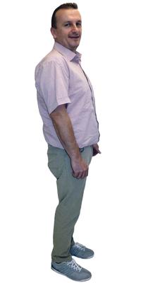 Straso Taseski de Birr après avoir perdu du poids avec ParaMediForm