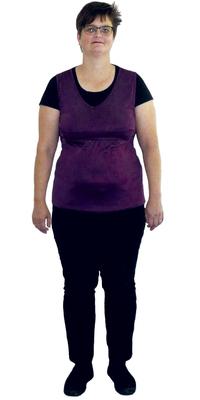 Irene Jaschek de Seon avant de perdre du poids avec ParaMediForm