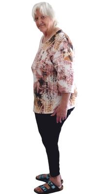 Rosmarie Schmidli de Staufen après avoir perdu du poids avec ParaMediForm