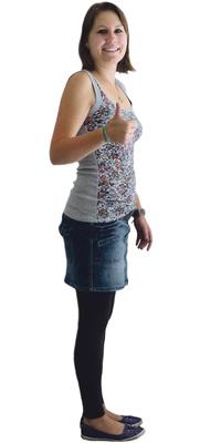 Geraldine Blum de Lenzburg après avoir perdu du poids avec ParaMediForm