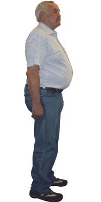 Alfred Eberhard de Seon avant de perdre du poids avec ParaMediForm