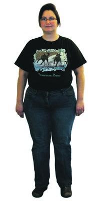 Nicole Gehrig de Ammerswil avant de perdre du poids avec ParaMediForm