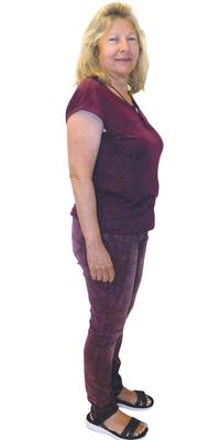 Renate Moser de Untersiggenthal avant de perdre du poids avec ParaMediForm