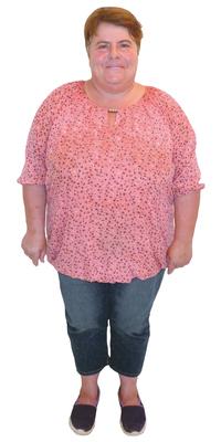 Ruth Schilter de Elfingen avant de perdre du poids avec ParaMediForm