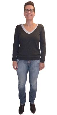 Ulrike Remonnay aus Villnachern vor dem Abnehmen mit ParaMediForm