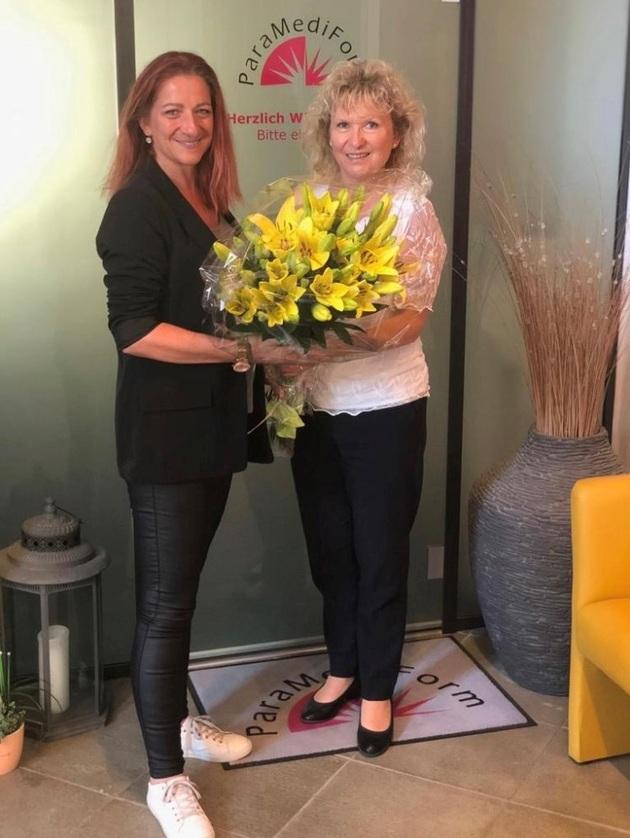Das ganze Team von ParaMediForm Lenzburg gratuliert Frau Dora Zienke aus Hunzenschwil zur erfolgreichen Gewichtsreduktion von 20 kg. Ihr Wohlfühlgewicht hält sie nun bereits seit eineinhalb Jahren. Herzliche Gratulation zu dieser Leistung!