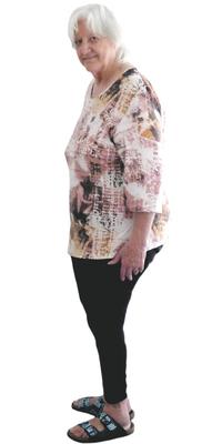 Rosmarie Schmidli aus Staufen nach dem Abnehmen mit ParaMediForm