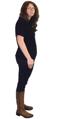 Sarah Mattmann aus Fahrwangen nach dem Abnehmen mit ParaMediForm