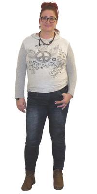 Dora Zienke aus Hunzenschwil vor dem Abnehmen mit ParaMediForm