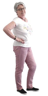 Monika Kissling aus Lenzburg vor dem Abnehmen mit ParaMediForm