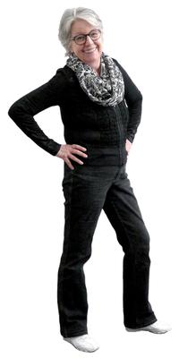 Monika Kissling aus Lenzburg nach dem Abnehmen mit ParaMediForm