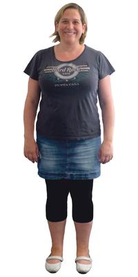 Helen Flepp aus Staufen vor dem Abnehmen mit ParaMediForm